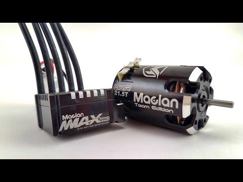 Maclan MMAX Pro 160A ESC & MRR Team Edition Brushless Motors