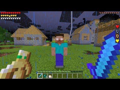 SPAWNING HEROBRINE on Friday the 13th in Minecraft Pocket Edition