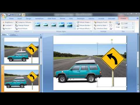 PowerPoint Tutorial: Remove background from images