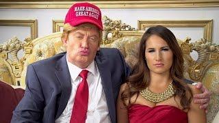 Donald Trump Sabotages Wife's Interview