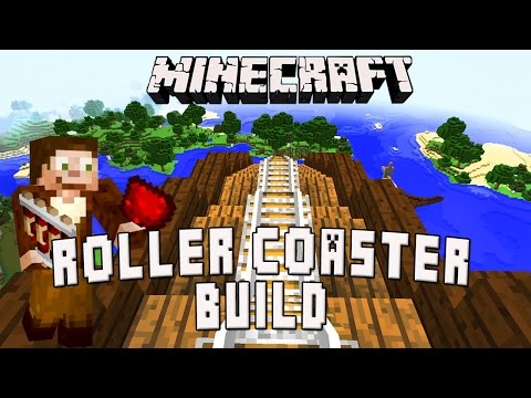 Minecraft: Building The Roller Coaster's Highest Chain Lift Hill (Scarland Coaster Build Ep.20)