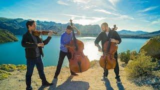 Wake Me Up - Avicii (violin/cello/bass cover) - Simply Three