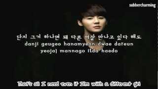 (HD) Xia Junsu (of JYJ) - No Gain (english sub+romanization+hangul)