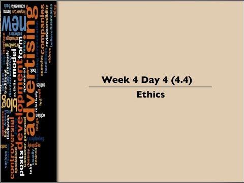 4.4 Ethics