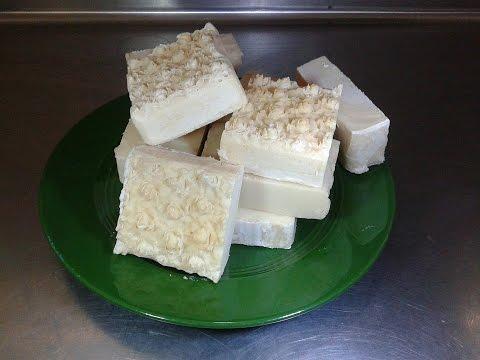 Lather Testing HP Lemon Juice soaps & CP Column Swirl Soap