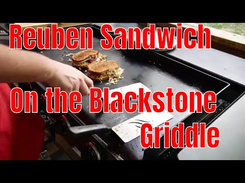 Simple Reuben Sandwiches on the Blackstone Griddle