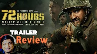 72 Hours Trailer Review by Saahil Chandel | Avinash Dhyani | Mukesh Tiwari | Shishir Sharma