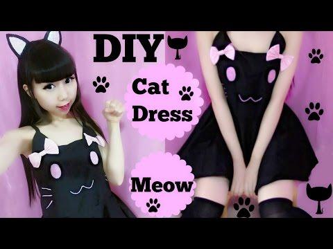 Halloween Costume DIY: Cat Costume/Dress