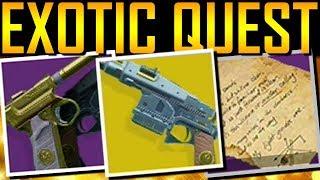 Destiny 2 - HOW TO GET STURM! Exotic Quest!