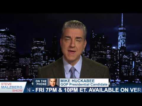 Malzberg | Huckabee: Rumors That I Will Endorse Trump In Little Rock This Week Are Nonsense