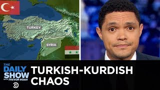 Chaos Unfolds After Trump Gives Kurds the Cold Shoulder | The Daily Show