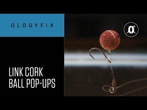 CARPologyTV - How to make your own Mainline Link Cork Ball Pop-ups