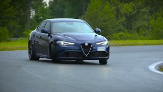 NEW! Chris Harris Drives The Alfa Romeo Giulia Quadrifoglio - Chris Harris Drives - Top Gear