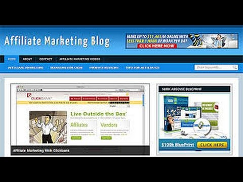 How To Make MOney On Your Blog With Affiliate Marketing PART 1