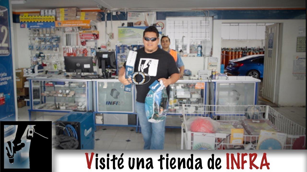 De visita a una tienda OFICIAL de INFRA!