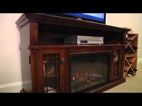 Wallace Electric Fireplace Entertainment Center