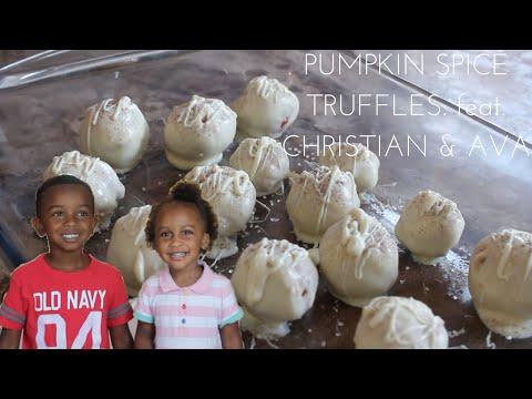 HOW TO MAKE OREO TRUFFLES WITHOUT FOOD PROCESSOR   PUMPKIN SPICE TRUFFLES FOR FALL #FALLINGFORFALL