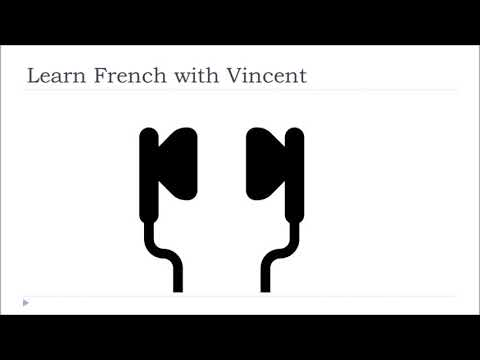 Audio French Vocabulary # The salutations