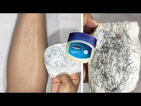 In 5 Minutes, Remove Unwanted Hair Permanently, NO SHAVE NO WAX, Painlessly Remove Unwanted Hair