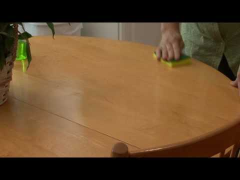General Housekeeping : How to Clean a Kitchen Table