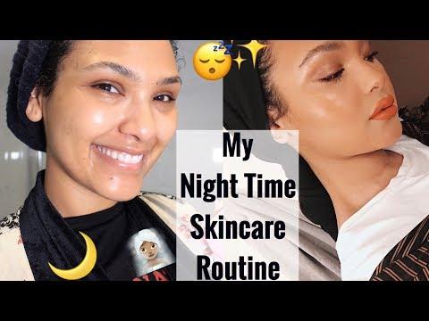 NIGHT TIME SKINCARE ROUTINE!! Ramadan Glowing skin!