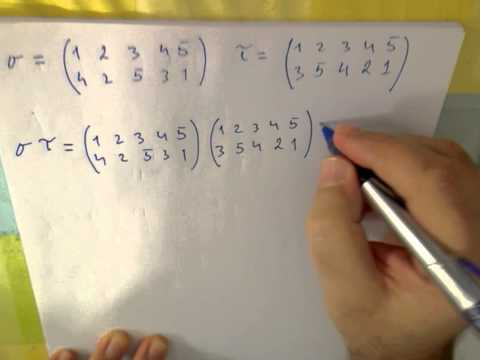 Groups of Permutations