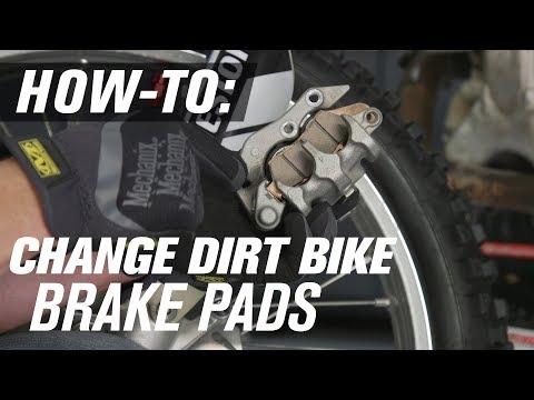 How To Replace Dirt Bike Brake Pads
