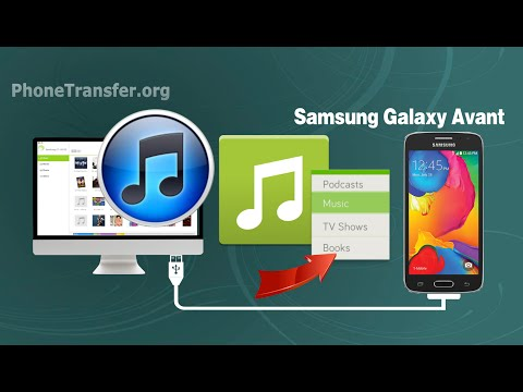 How to Sync Music, Playlist from iTunes to Samsung Galaxy Avant on Mac OS X Yosemite