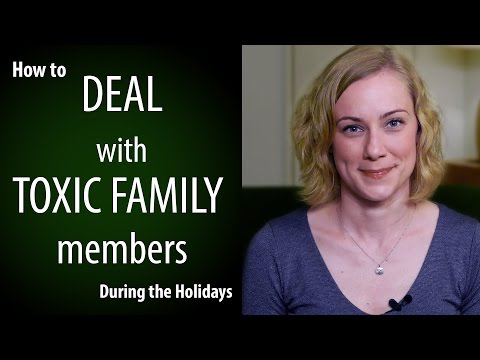 How to deal with Toxic Family this Christmas 2016! Psychology w Kati Morton
