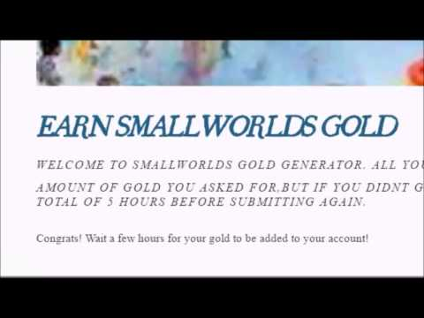 GET 100K GOLD ON SMALLWORLDS *UPDATED