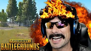 DrDisRespect Blows Himself Up and Funny Moments on PUBG!