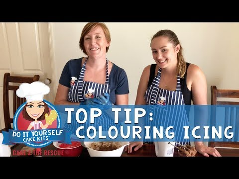 C2TR Top Tip - Colouring Butter Icing