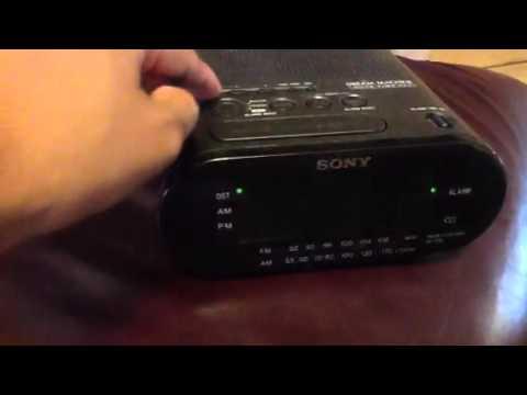 ICF-218 Sony Alarm Clock
