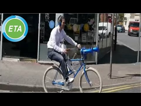 The Hornster - world's loudest bicycle with Airchime KH3A