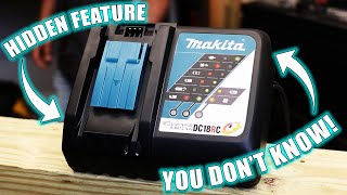 MAKITA RAPID CHARGERS HAVE A HIDDEN FEATURE YOU DON T KNOW