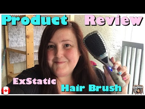 Product review: Exstatic hair brush