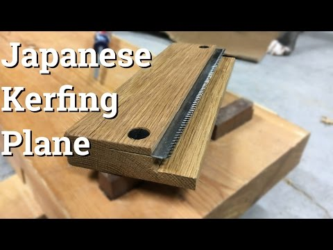 Make a Japanese Style Kerfing Plane