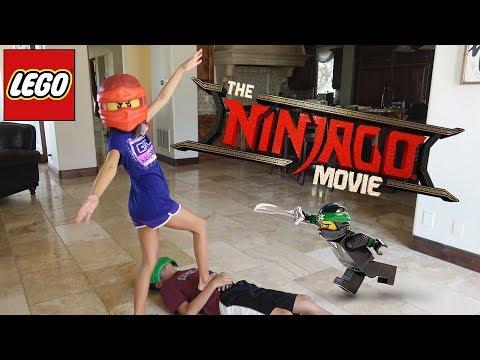 WORLD'S LARGEST LEGO NINJAGO SET!!! Ninjago Movie Day & New Minifigures!