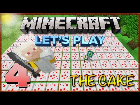 Minecraft Xbox: Survival Lets Play [Part 4] - THE CAKE! (TU25) XBOX 360 EDITION