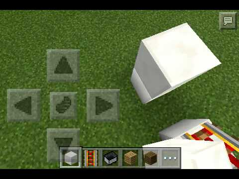How to make a working car in Minecraft PE 0.10.4