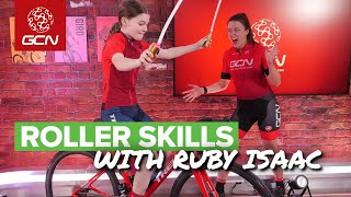 How To Improve Your Roller Skills | Ruby Isaac's Pro Cycling Tips