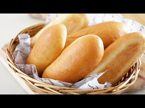 Xxx Mp4 How To Make An Easy And Fluffy Hot Dog Buns Homemade Hot Dog Bread Knead Bread By Hand 손반죽 핫도그번 만들기 3gp Sex
