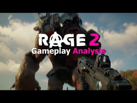 RAGE 2 Gameplay Trailer Frame by Frame Analysis