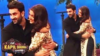 Ranbir & Aishwarya Rai's Romantic Hug on Kapil Sharma