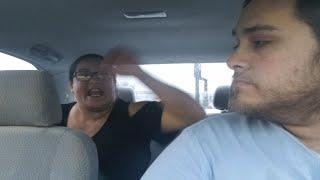 Uber passenger assaults and degraded uber driver Parody
