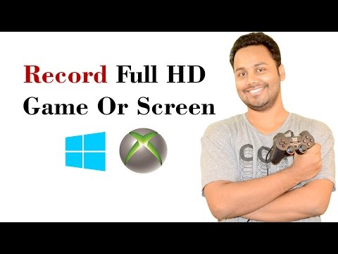 How To Record Full HD Game With Windows 10 Screen Recorder Hindi / Urdu
