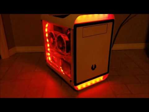 BitFenix Prodigy Gaming PC Build with Custom Diffused Lighting