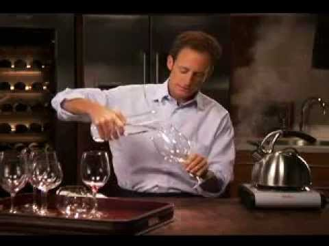 How to clean a Riedel Wine Glass