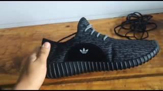 unboxing Adidas Yeezy mercado livre brasil