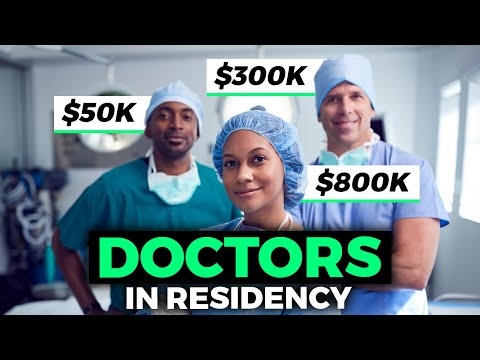 How Much Do Doctors Get Paid in Residency! 💰💰💰